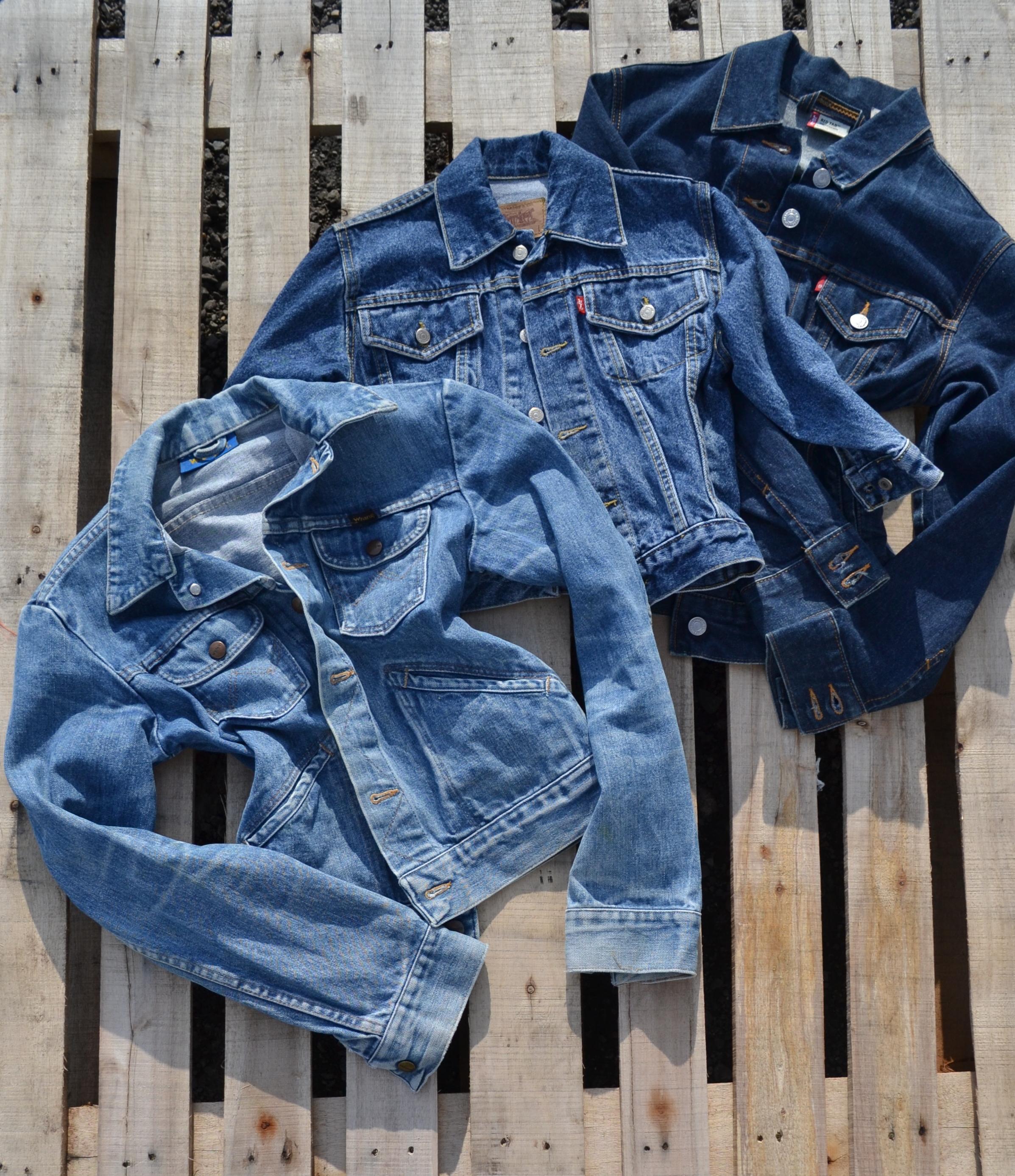 levi's giacche jeans tagloe